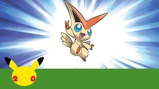 Celebrate #Pokemon20 with the Mythical Pokémon Victini! by The Official Pokémon Channel