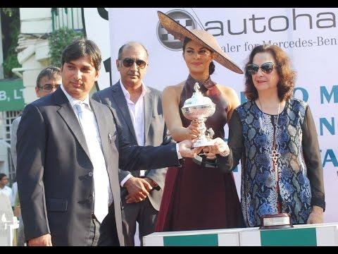 Jacqueline Fernandez At Mumbai Race Course