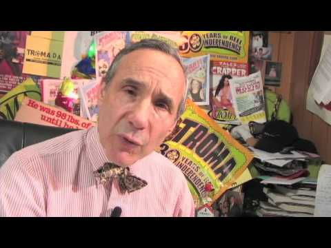 """""""Toxic Superheroes, Slaughtered Pigs & Zombie Chickens"""" - A Video Portrait of: Lloyd Kaufman"""