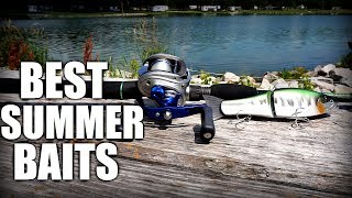 Video TOP 5 SUMMER BASS FISHING LURES - Shallow Water Tips MP3, 3GP, MP4, WEBM, AVI, FLV Desember 2018