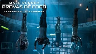 Maze Runner: Provas de Fogo | TV Spot 2 [HD] | 20th Century FOX Portugal, phim chieu rap 2015, phim rap hay 2015, phim rap hot nhat 2015