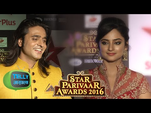Ram & Sita Look Stunning At The Star Parivaar Awar