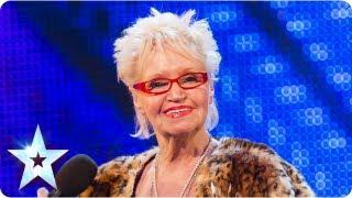 Video Kelly Fox shocks and rocks! | Week 5 Auditions | Britain's Got Talent 2013 MP3, 3GP, MP4, WEBM, AVI, FLV Oktober 2018