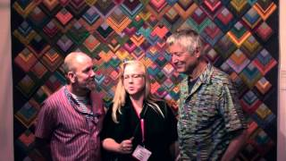Festival of Quilts 2013 - Birmingham UK - Kaffe Fasset & Brandon Mably