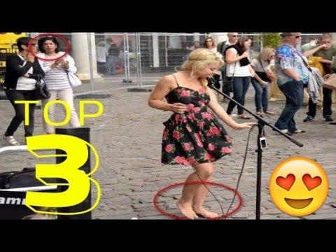 Barefoot Street Performer SHOCKS Audience with her beautiful voice - Sammie Jay 95.7 KJR