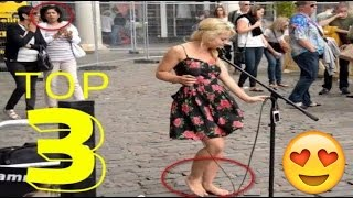 Barefoot Street Performer SHOCKS Audience With Her Beautiful Voice - Sammie Jay