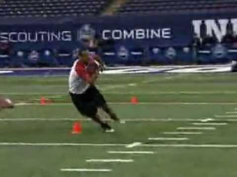 NFL Scouting Combine Running Backs Drills