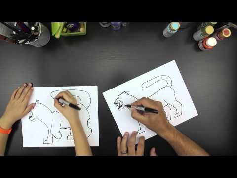 How To Draw A Tiger, You Can Get Paid To Draw!