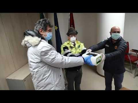 Gli Alpini donano 6 ventilatori polmonari alle Asl Abruzzesi.