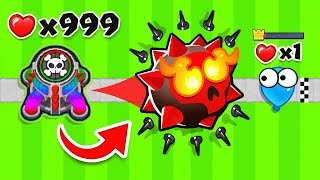 1 SPIKE TOWER *ONLY* CHALLENGE (Bloons TD 6)