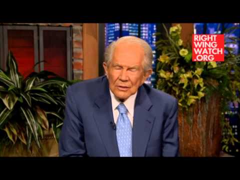 WATCH: Pat Robertson says Robin Williams committed suicide because he was a heathen.