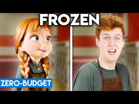 FROZEN WITH ZERO BUDGET! (Do You Want To Build A Snowman PARODY)