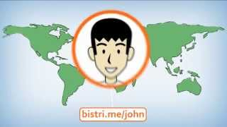 Bistri - Video Calls & Sharing YouTube video