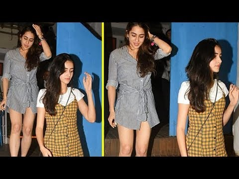 Sara Ali Khan And Ananya Pandey FIRST Time Spotted