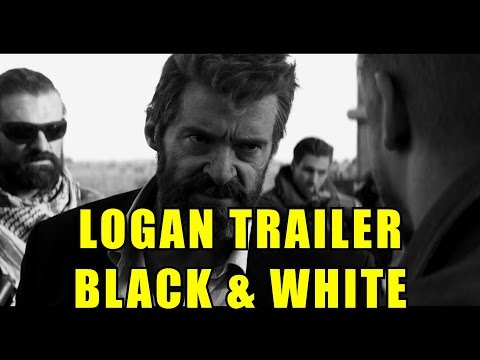 Logan l Official Trailer l Black & White Edition [HD]