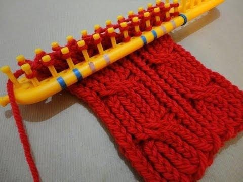 tejer cuellos - ENCONTRARÁS TODOS NUESTROS VÍDEO TUTORIALES AQUÍ: http://www.youtube.com/user/TuteateTeam Tutorial paso a paso que muestra cómo hacer un cuello o bufanda de ...