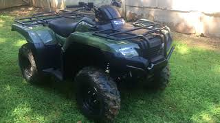 10. BRAND NEW 2017 HONDA RANCHER 420