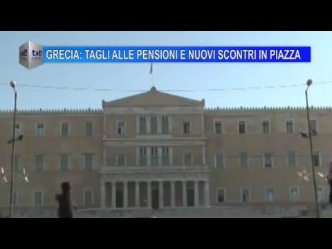 GRECIA: TAGLI ALLE PENSIONI E NUOVI SCONTRI