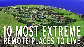 AUDIBLE: Free 30 Day Trial: http://amzn.to/2glRlZ4 10 Most Extreme and Remote Places People Live Click here to SUBSCRIBE: https://goo.gl/zF1PI8 ...