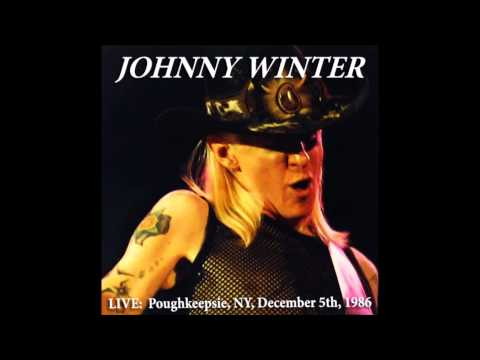 JOHNNY WINTER LIVE Poughkeepsie, NY, December 5th 1986
