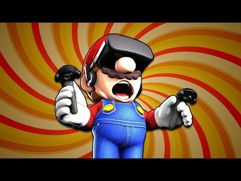 Mario Plays VRChat (видео)