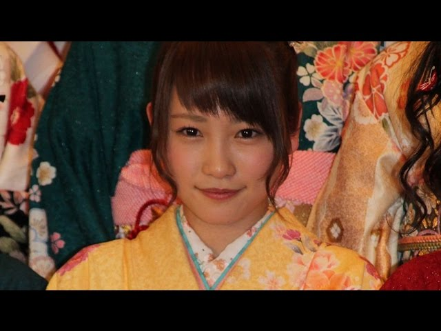 AKB48川栄李奈、今年は「はざま世代」 九九は「これから」 「平成27年 AKB48グループ成人式」2 #AKB48 #Japanese Idol
