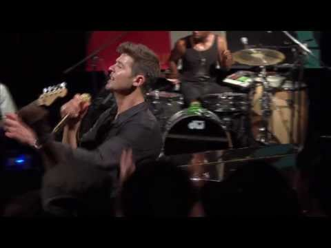 """Robin Thicke - """"Wanna Love You Girl"""" live from Interscope Introducing"""
