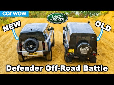 New vs Old Land Rover Defender: Up-Hill DRAG RACE & Off-Road Battle!