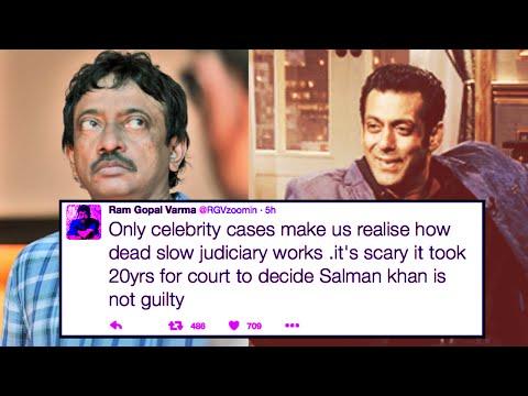 Ram Gopal Varma Sensational Tweets On Indian Judiciary | Salman Poaching Case Verdict
