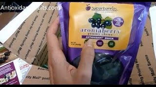 Aroniaberry (Chokeberry) Gummy Chews, 16 ozhttp://amzn.to/1vqfnRxAroniaberry+ Daily Wellness Shot (Chokeberry), 2 Ounce Bottles (Pack of 12)http://amzn.to/1pARHE7Aroniaberry Gummy ChewsINGREDIENTS:  Organic Rice Syrup, Organic Cane Sugar, Superberries Aroniaberry Concentrate, Gelatin, Citric Acid, Natural Flavors, Pectin, Coconut Oil and Carnuaba Wax (for Anti-Sticking).http://www.superberries.com/gummychewsAroniaberry+ Daily Wellness Shot (box 12 / 2 oz.)http://www.superberries.com/Aroniaberry-Daily-Wellness-Shot-box-12-2-oz_p_94.html Visit Antioxidant-fruits.com to see all of our reviews: http://www.antioxidant-fruits.com/category/product-reviewsSubscribe to our newsletter: http://forms.aweber.com/form/44/711727044.htmSign Up for Daily Blog Posts: http://feedburner.google.com/fb/a/mailverify?uri=FruitBlog&loc=en_USJoin Antioxidant-fruits.com on:Facebook: https://www.facebook.com/antioxidantfruits?v=wall&ref=tsTwitter:  https://twitter.com/#!/antioxifruitsPinterest:  http://pinterest.com/antioxifruits/YouTube:  http://www.youtube.com/user/antioxidantfruitsGoogle+: https://plus.google.com/104293428454927091581Superberries Aronia Berry Products Arrive for Review - Aroniaberry - Chokeberry - Antioxidant-fruits #health #fruit #fruits #antioxidants #antioxidantfruits