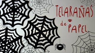 Video Idea FACIL de Halloween: TELARAÑAS de PAPEL by ART Tv MP3, 3GP, MP4, WEBM, AVI, FLV November 2017