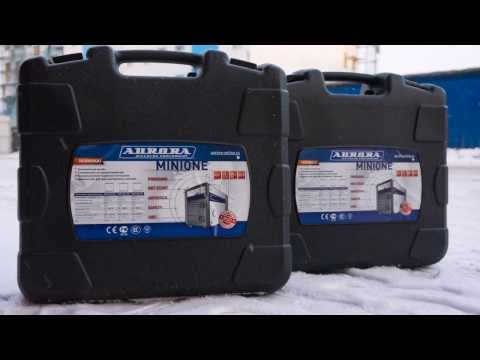Сварочные инверторы Aurora Minione 1800 и 2000. Взгляд на мир глазами сварочного аппарата
