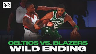Final 5 Minutes of Celtics vs. Blazers | WILD Finish by Bleacher Report