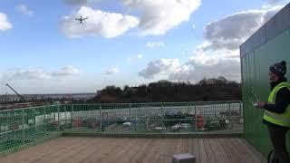 Newton 403 HydroBond Drone Footage
