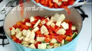 Cómo hacer estofado de verduras