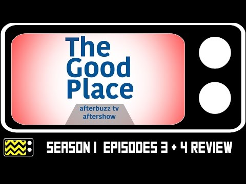 The Good Place Season 1 Episodes 3 & 4 Review & After Show | AfterBuzz TV