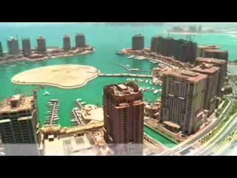 The Pearl-Qatar Aerial Footage