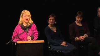 Anna Siedle DiEM25 in Berlin launch