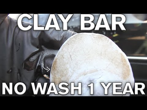 How to use a Clay Bar: 1 Year of Neglect on Rare CLK 63 Convertible