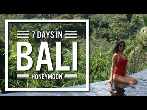 Amazing Bali Honeymoon | Bali hotels, attractions, romantic spots | Gopro!