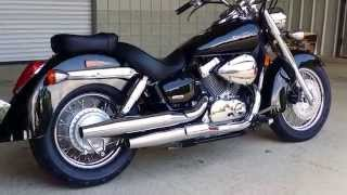 8. 2014 Honda Shadow Aero 750 Walk Around Video - VT750C - Cruiser / Motorcycle