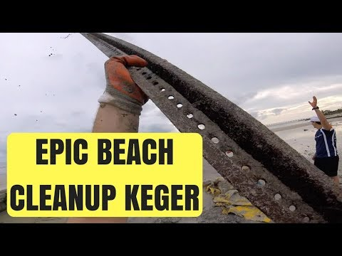 Epic Beach Cleanup Keger