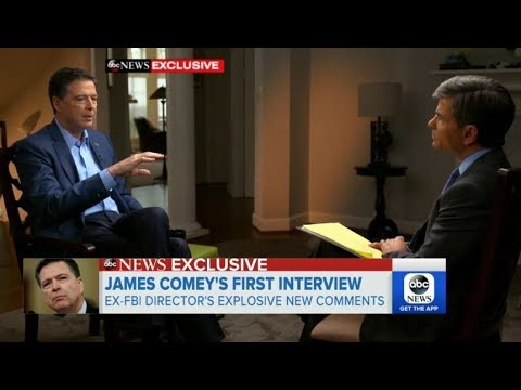 more CNN Panel discussion on ABC News George Stephanopoulos with James Comey former FBI director