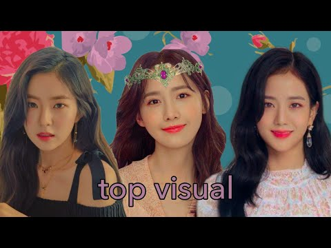 (top 10) Best Visual Kpop Girl Group - Most Voted