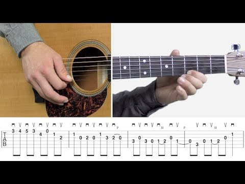 Advanced Bluegrass Guitar Lick in C – Guitar Lesson – Bluegrass Lick Library