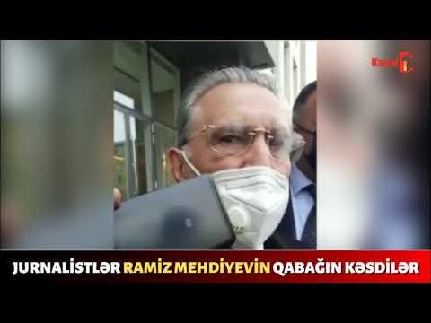 Ata Abdullayev Ramiz Mehdiyevə nə dedi? Jurnalistlər onun qabağın kəsdilər