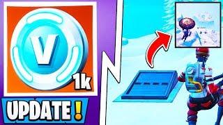 *NEW* Fortnite Update! | 1000 Vbucks, Under the Bunker, 7.30 Patch Info!