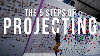 The 5 Steps of Projecting - Finally Getting on the 2017 Moonboard Set at HarroWall by Verticalife