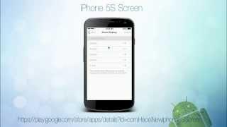 iPhone 5S Screen YouTube video
