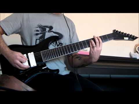 Esp Stef B8 Deftones - Romantic Dreams 8 String Guitar Cover